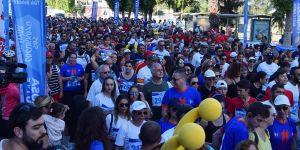 Lefkoşa sokakları maraton ile renklendi