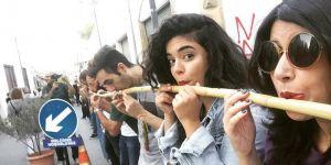 Lefkoşa'nın her iki tarafı flüt ile birleşti