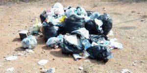 2 ayda 150 poşet çöp!