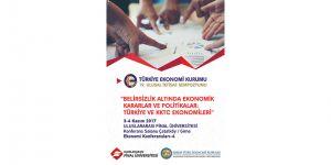 UFÜ ekonomi konferansına ev sahipliği yapıyor