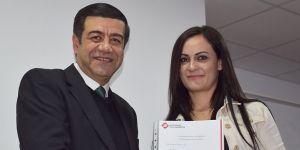 UFÜ öğrencilerine iş garanti sertifikaları verildi