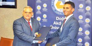 DAÜ ile Alsancak belediyesi arasında;  İş birliği protokolü