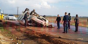 Lefkoşa - Mağusa yolunda trafik kazası!
