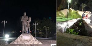 """""""Dr. Küçük'ün Surlariçi'ndeki heykeli unutuldu"""""""