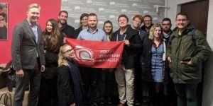 CTP'li gençlik Avrupa'da ses getirmeye devam ediyor!