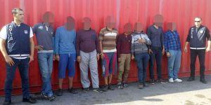 Gemiden 9 kaçak göçmen çıktı!