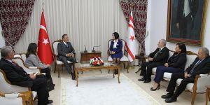 CHP Milletvekili Mevlüt Dudu, Siber'i ziyaret etti