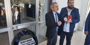 """Afrika Gazetesi önünde """"Recep Tayyip Erdoğan"""" eylemi…"""