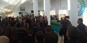 Kadriye Bayraktar'ı mesai arkadaşları uğurladı
