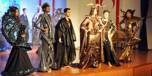 TMK, tarihi ve kültürel değerleri kıyafetlerle sahneye taşıdı…