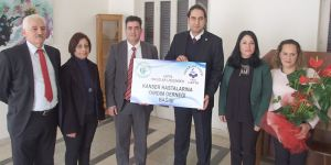 Lapta Yavuzlar Lisesi'nden kanser hastalarına destek