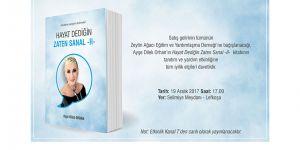 Ayşe Dilek Orhan yeni kitabını tanıtacak