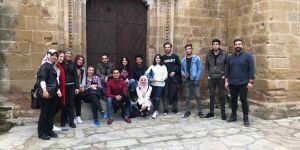 UFÜ öğrencileri Lefkoşa'yı keşfetti