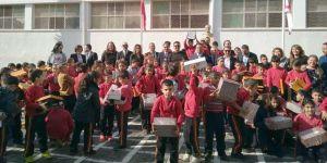 Sigortacılardan Arabahmet İlkokulu'na anlamlı yardım