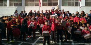 Arabahmet İlkokulu'na anlamlı yardım