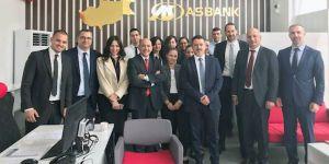 Asbank Yenikent konsept şube hizmete başladı