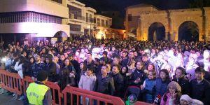 Namık Kemal Meydanı 2018'i coşkulu bir şekilde karşıladı