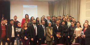 Nebil Özgentürk, 6. Uluslararası Medya Çalıştayının konuğu oldu