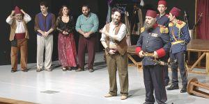 """İstibdad Kumpanyası"" Mağusa'da sahnelendi"
