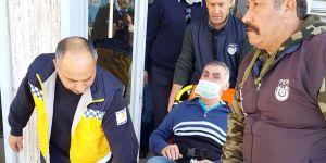 Ambulansla polis eşliğinde mahkemeye getirildi…
