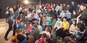 Bandabuliya Sahnesi, Karagöz oyunuyla açıldı