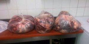 Kaçak ete 21.000 TL ceza