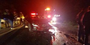 Girne Dağyolu'nda kaza: 5 yaralı