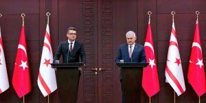 TC Başbakanı Yıldırım'dan Erhürman'a