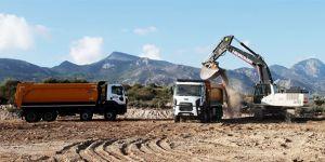 Girne-Değirmenlik Yolu'ndaki çalışmalar salı günü tamamlanacak