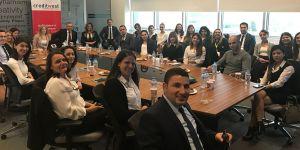 Oyak Sigorta & Anadolu Sigorta'dan Creditwest çalışanlarına eğitim