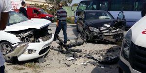 Trafikte 1 ölü, 25 yaralı