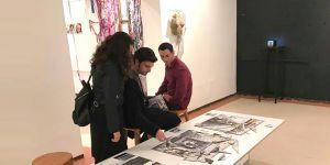 """""""Sanatçılarla Atölye Çalışması"""" ürünleri EMAA'da sergilendi"""