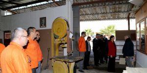 İçişleri Bakanlığı, Merkezi Cezaevi'ndeki 50 genç ve çocuğu topluma kazandırmak amacıyla proje başlattı
