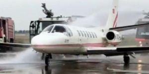 Kıbrıs'a gelecek uçak korkuttu!