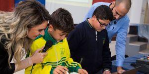 Kuzey Kıbrıs Turkcell'in Teknoloji Seminerleri öğrencilerin ilgi odağıydı