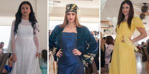 'Kıbrıs Türk Kadını Kostümleri' defilesi eskilere götürdü
