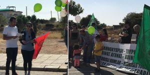 CTP ve EDON  Derinya'da eylem yaptı