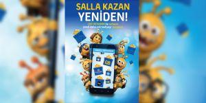 """Kuzey Kıbrıs Turkcell'in  """"Salla Kazan"""" kampanyası devam ediyor"""