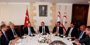 Çavuşoğlu, parti başkanları ile görüştü