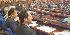 Candan, AKPA Genel Kurulu'nda konuşma yaptı