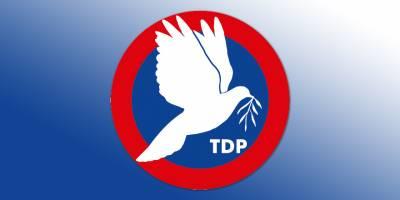 TDP'de başvuru kabulü başladı