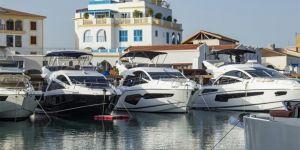 Limasol'da gemi fuarı açıldı