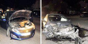 Alkollü sürücü kazaya neden oldu