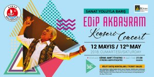 8'inci Girne Kültür Sanat Günleri Edip Akbayram konseriyle başlıyor