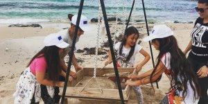 """""""Merak et, keşfet"""" sloganıyla Kıbrıslı çocuklar Ayfilon'da harika bir gün geçirdi…"""
