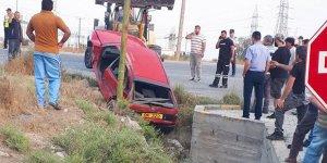 Alaniçi - Dörtyol kavşağında kaza