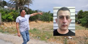 '100 polis köyü bastı,  KATİL FİRARİYİ  GÖRDÜM'