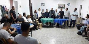 UBP Lefke Belediye Başkan Adayı Lefke'de sorunları dinledi