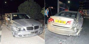 Alkollü sürücü çarptı, kaçtı