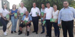 Karavezirler ve ekibi Mesarya'nın güneyini ziyaret etti